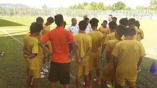 لقطات من تدريبات فريق تحت 23 والشباب في تركيا | 26-08-2017