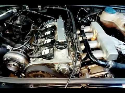 Audi A4 Quattro 1.8t Big Turbo B6 - YouTube