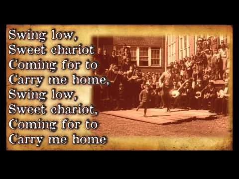 """Swing Low, Sweet Chariot""-Bluegrass Gospel Hymn with Lyrics"