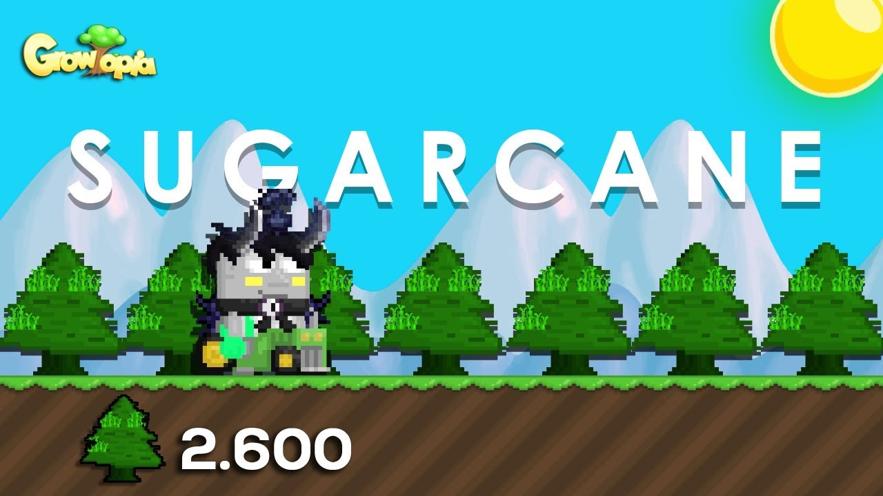 HOW TO GET RICH BY FARMING SUGARCANE!❤️️ (Indo Sub) | Growtopia