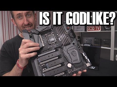 MSI Godlike Z370 Coffee Lake Motherboard Review