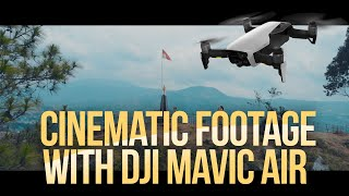 5 Tips Drone Shots dengan DJI Mavic Air