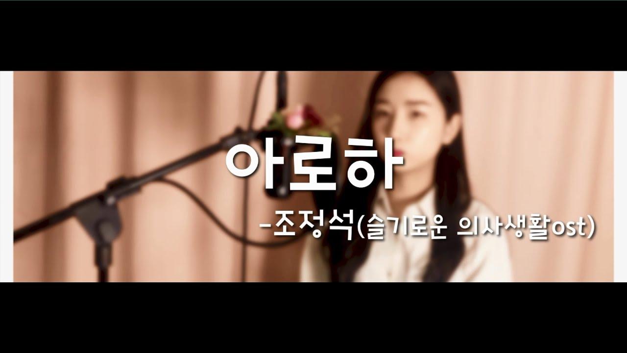 슬기로운 의사생활OST 조정석-아로하 COVER BY.온유(ONYU)