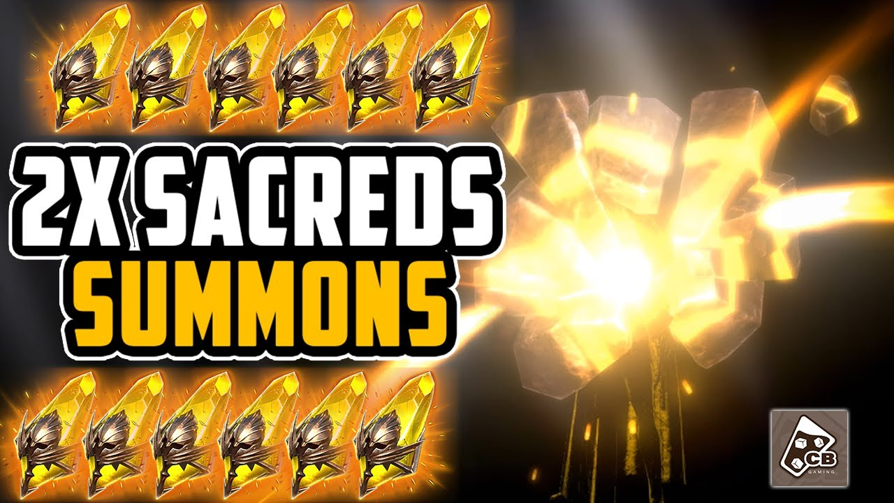 OPENING SACREDS (2X?) - ANCIENTS - VOIDS - LEGENDARIES?  | RAID SHADOW LEGENDS