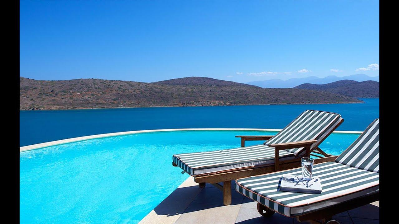 discover domes of elounda luxury resort in crete greece voyage priv uk youtube. Black Bedroom Furniture Sets. Home Design Ideas