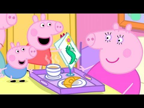 小猪佩奇   全集合集   1小时   第一季 连续看  猪妈妈生日快乐 🎂粉红猪小妹 Peppa Pig Chinese   动画