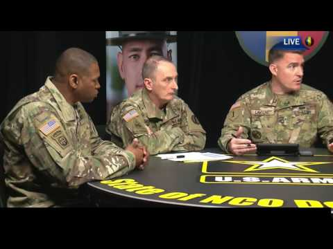 TRADOC State of the NCO Development Town Hall 4