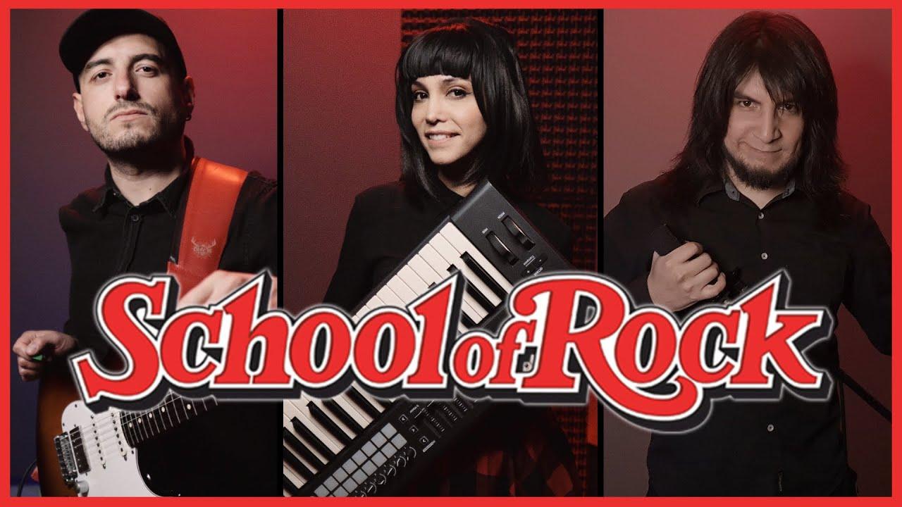 School Of Rock Theme Cover! ft. @Ryou Sakai