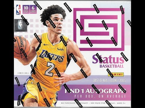 2017 18 Panini Status Basketball Hobby Box Break #1