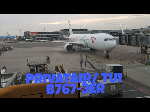 TRIP REPORT | PrivatAir/ TUI (ecomony class) | Amsterdam - Antalya | B767