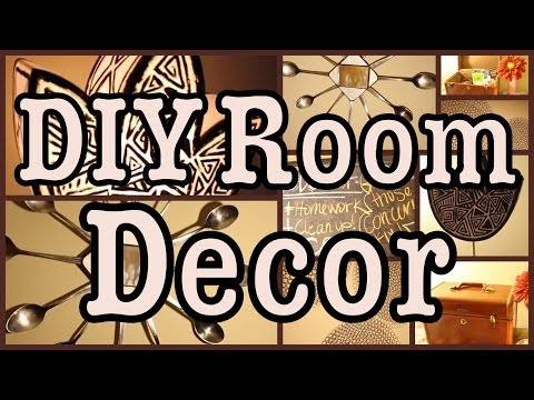 Diy: Room Decor & Decorating Ideas!  All From The Thrift