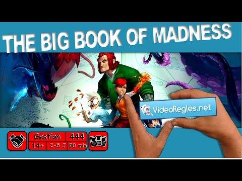 "Vidéorègle jeu de société "" The Big Book of Madness "" par Yahndrev (#444)"
