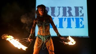 Fire act at Pure Elite