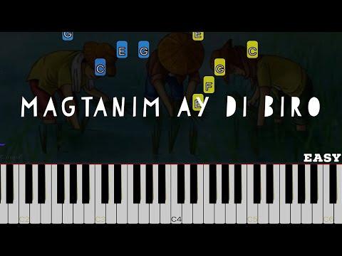 Magtanim Ay Di Biro   Easy Piano Tutorial (Arranged By Heide Abot)