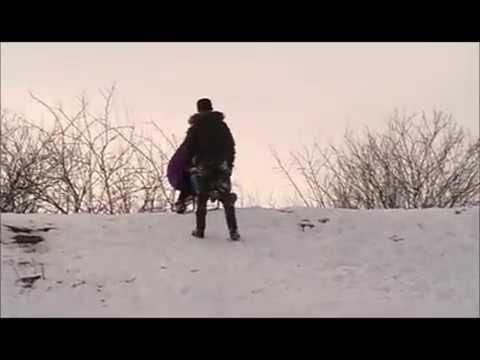едно Българско село. зима-2017. Сталийска Махала . община Лом.BULGARIA