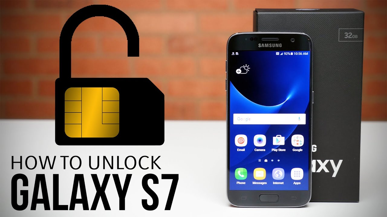 Image result for Unlock Samsung Galaxy S7