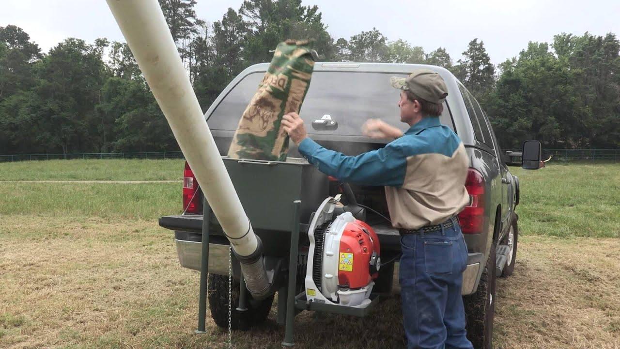 feeder system power view deer filler fish wildlife drive auger