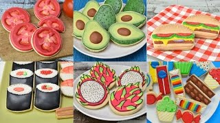 BEST DECORATED COOKIES THAT LOOK LIKE OTHER FOODS, COMPILATION, HANIELA