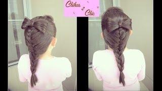 Hairstyle: Bow and Mermaid Braid | Chikas Chic