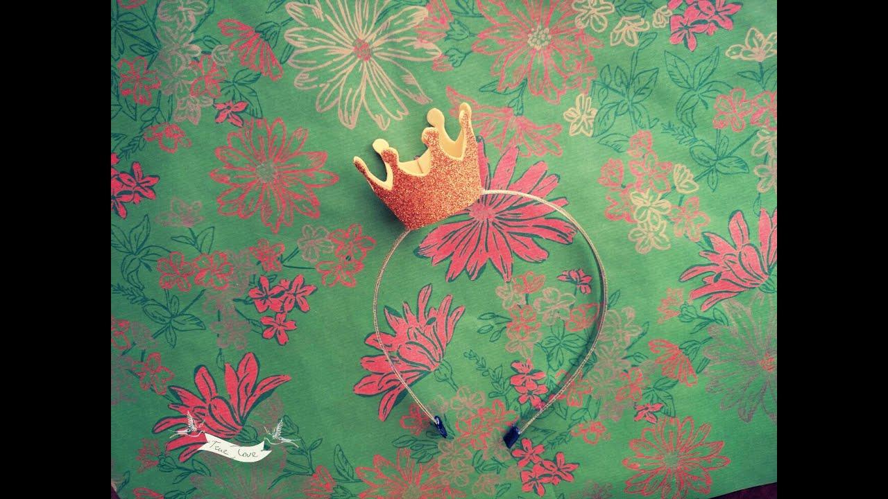 Корона из бисера ободок своими руками