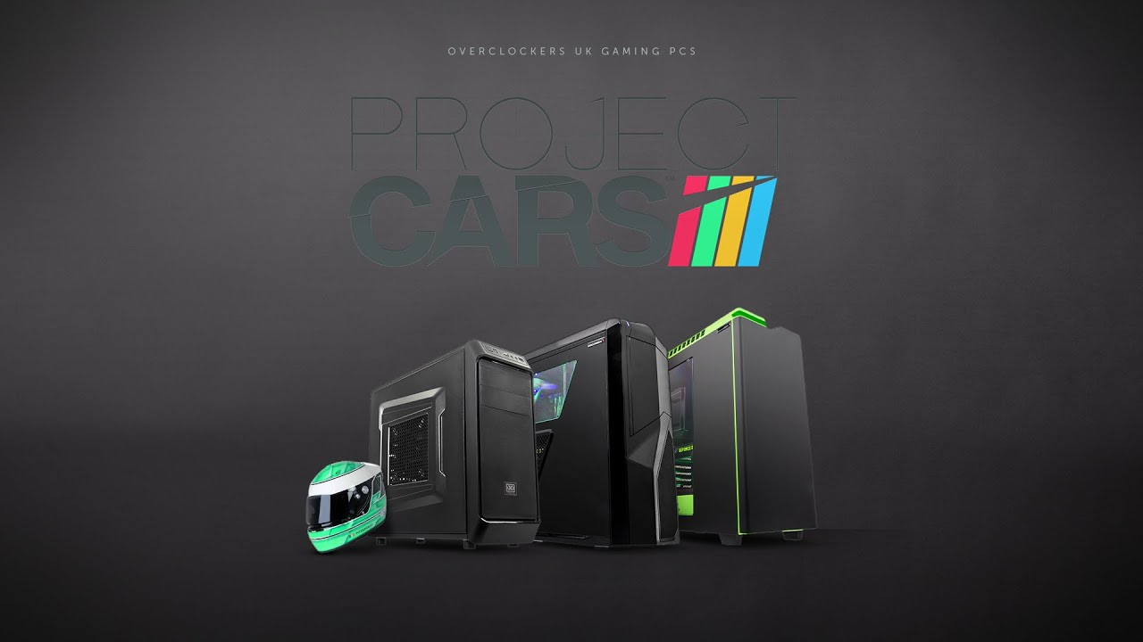 overclockers uk project cars gaming pcs youtube