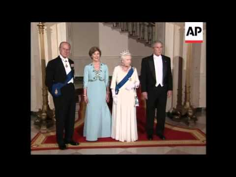 Queen Elizabeth Ii And President Bush At White House Banquet Youtube