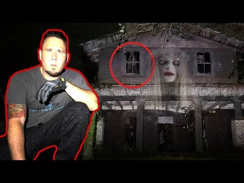 HAUNTED BURNED HOUSE AT 3AM (FRIEND GETS POSSESSED)