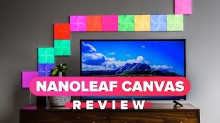 Nanoleaf Canvas review: Cover your walls in color