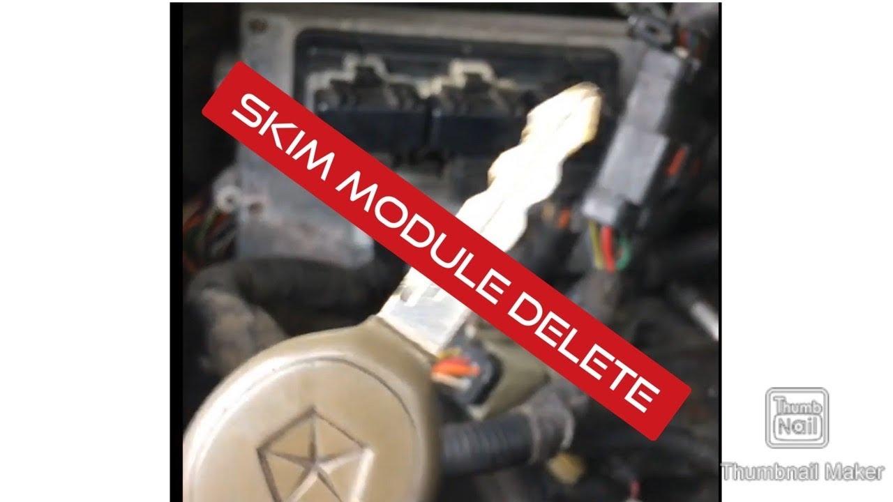 JEEP SKIM KEY PROBLEM    SOLVED!!!! ECM REPROGRAMMED Jeep Grand Cherokee   Remove SKIM from ECM