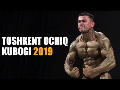 TOSHKENT BODIBILDING VA FITNES OCHIQ KUBOGI 2019