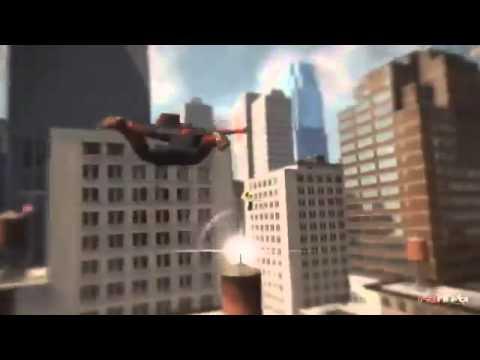 Бесплатные игры онлайн  Совершенный Человек паук Спайдерцикл, гонки на мотоцикле, игра для мальчиков