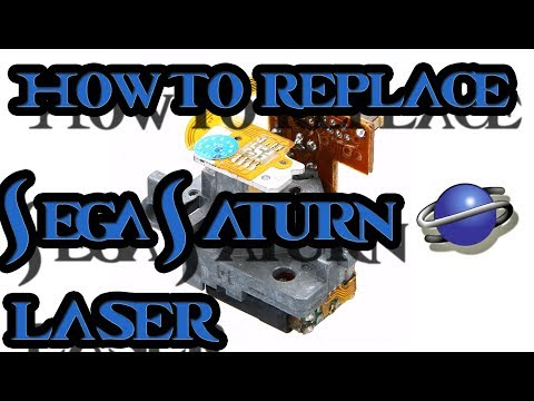 How To Replace/ fix a Sega Saturn Laser Pick up – Optima 6s Replacement Tutorial