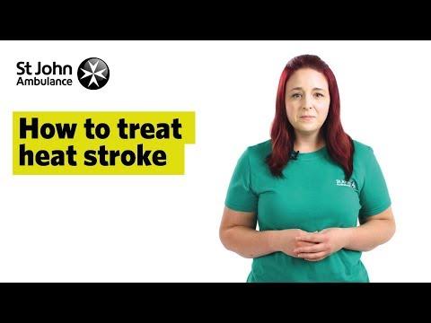 How To Treat Heat Stroke, Signs & Symptoms - First Aid Training - St John Ambulance