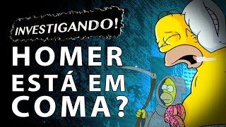 TEORIA SIMPSONS: Homer está em coma?