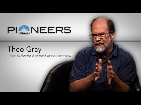 Illinois Pioneers with Theo Gray - September 19, 2013