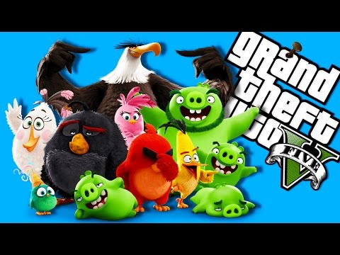 EPIC Angry Birds Maps & More!!! (GTA 5)