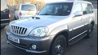 2003 HYUNDAI TERRACAN SUV REVIEW