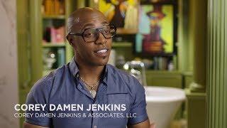 NEWFACE MAGAZINE LV MEDIA FEATURING:  Home Designer Corey Damen Jenkins