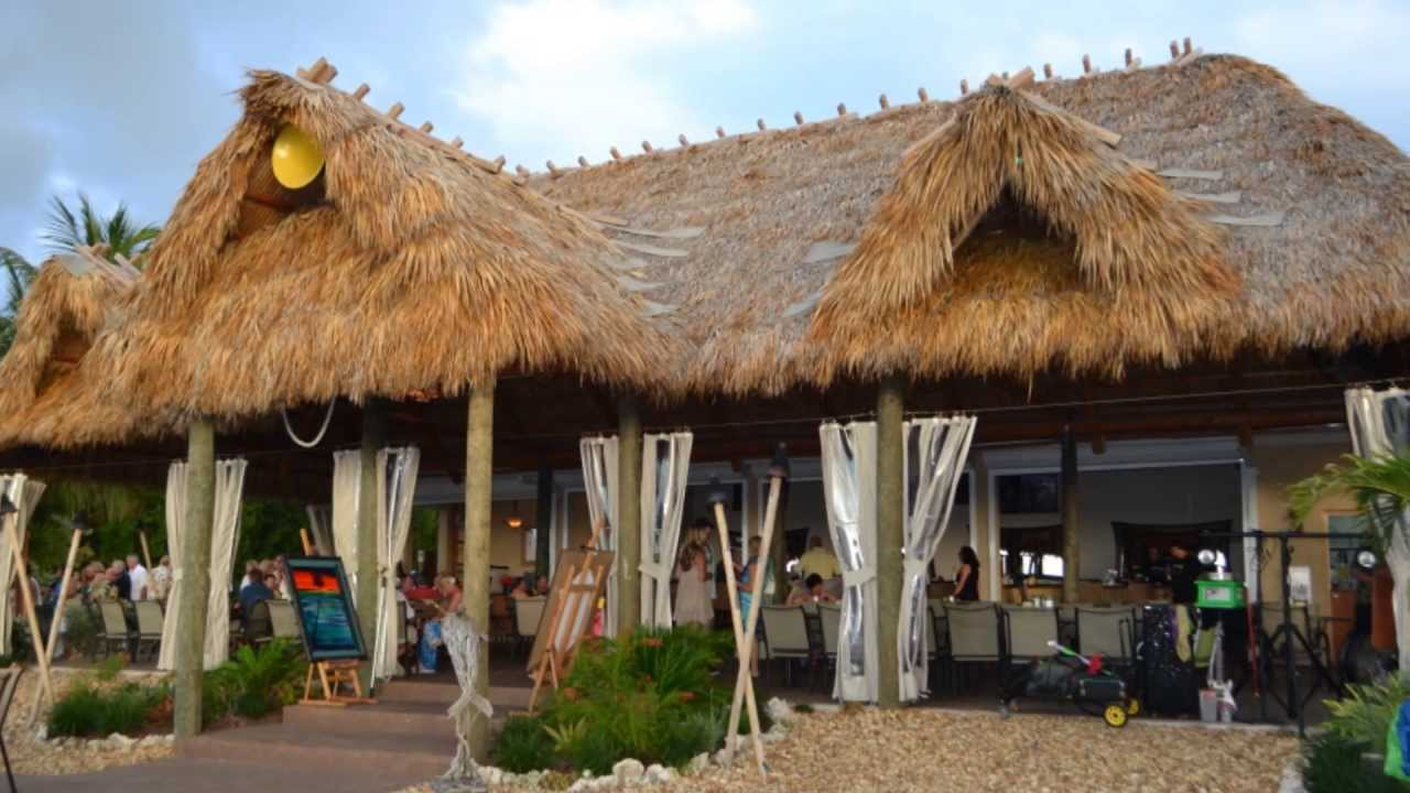 Snooks Bayside Restaurant Grand Tiki Bar Key Largo Florida You