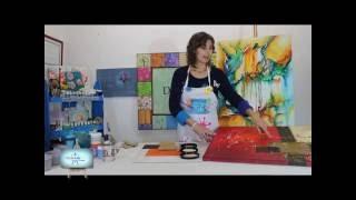 Abstracto!!!  Diferentes tecnicas y texturas para realizar cuadros abstractos!!!