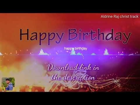 Happy birthday song remix | Aldrine | download link in the description