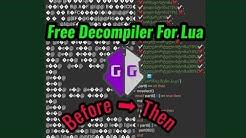 Decrypt Lua Script By GG (Remove Binary Chunk)   Script Decompiler