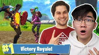 PICKAXE HAK GEVECHT MET HANWE EN STEVEN! - Fortnite Battle Royale (Nederlands)