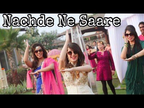 Nachde Ne Saare| Baar Baar Dekho| Wedding Choreography | Mehendi Ceremony | Flashmob| Bolly Garage