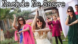 Nachde Ne Saare| Baar Baar Dekho| Wedding Choreography | Mehendi Ceremony | Flashmob| Bolly Garage