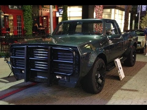 1973 GMC C-20 Pickup, from the Movie Gamer, at Hot Rod Nights