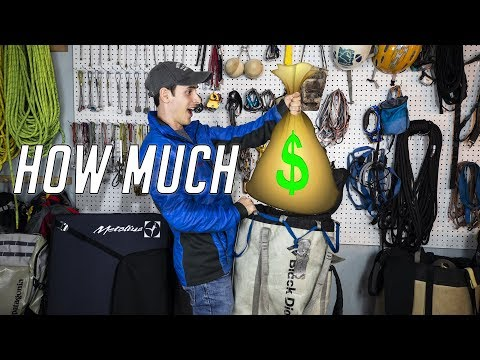 How Much $MONEY$ Will Climbing Gear Cost You!
