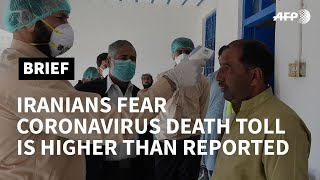 Iranians fear government cover-up for coronavirus death toll | AFP