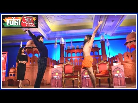When Baba Ramdev Defeated Ranveer Singh In A Dance Battle, See Video