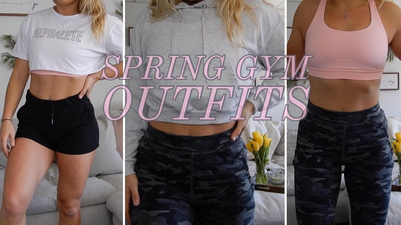 [VIDEO] - SPRING GYM OUTFITS 1